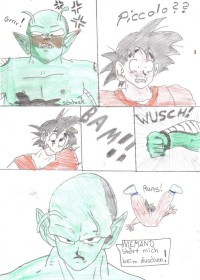 Piccolo u. Son-Goku DUSCHE!! lustiges D.