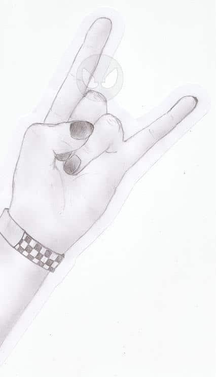 my left hand XD