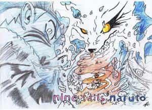 nine tails naruto
