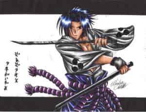"""sasuke da Swordsman XD"""