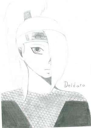 Deidara (Bleistift)