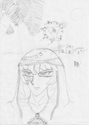 Bakura 2 Zeichnung
