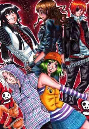 Kanda Mafia vs Allen Punks