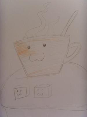 Süße Caffee-Tasse XD