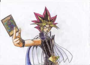 Yami with card