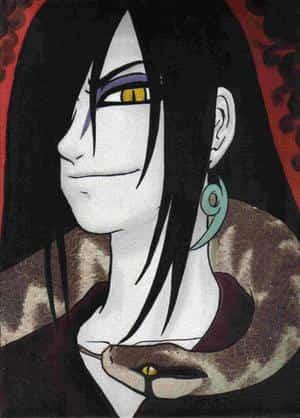 Orochimaru Öl-Portrait