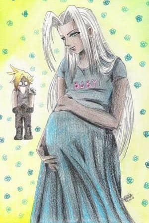 Sephiroth und Babyfreuden