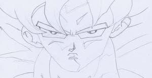 Son-Goku als Supersayajin
