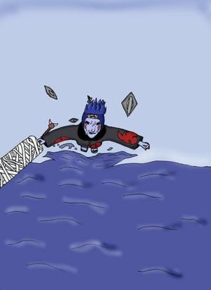 Kisame comes to you acroos the water