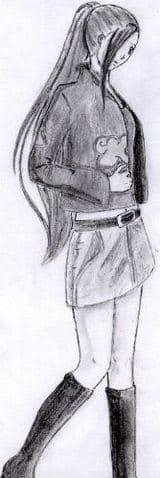 A female Akatsuki - Ino