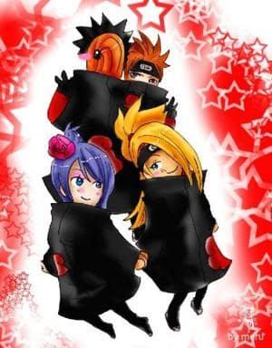 meine liebling Akatsuki memberss!!
