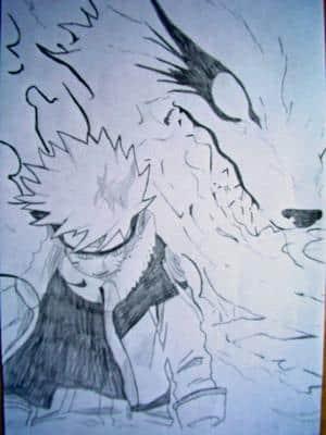 Naruto und der neunschwänzige