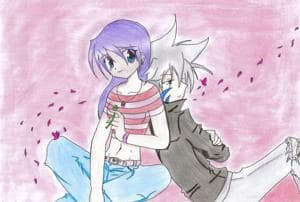 Miren (OC) & Kai in love