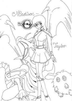A YuGiOh Chara (Outlines)