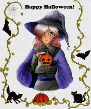 Halloween-Hexe =)
