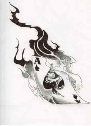 burning ace