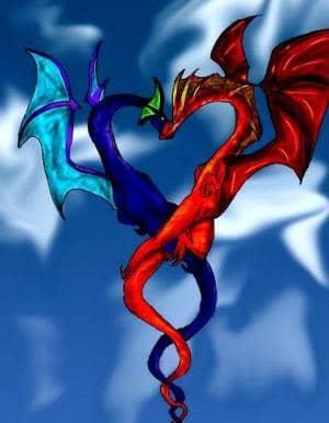 Drachenpaar