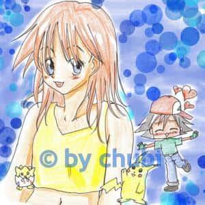 Ash x Misty (Satoshi x Kasumi)