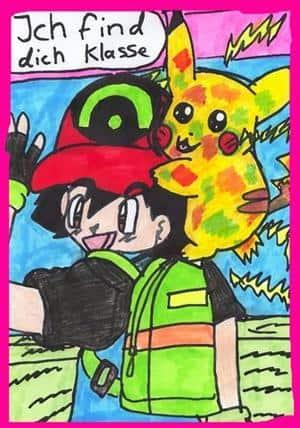 Ash und pika