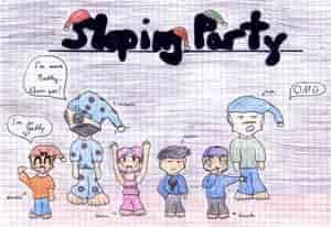Naruto Sleeping Party
