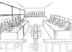 Hanna vor Gericht