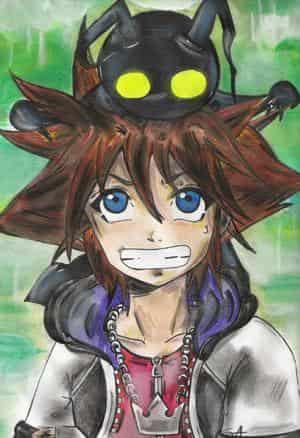 """Sora & Heartless oder: """"Da sitzt was auf meinem Kopf."""""""