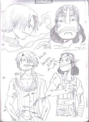 Sanji und Lysop