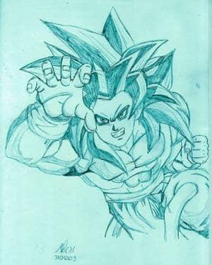 Son Goku SSj 4