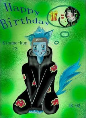 Happy Birthday Kisame-kun <3