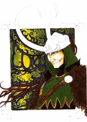 Loki in Arbeit