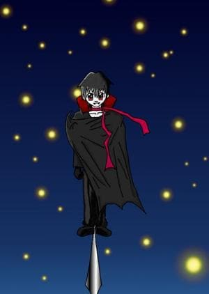 Vampir-Shun (aus dem Doji: Twins - Shun und Kazumi)