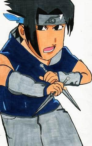 sasuke aus naruto
