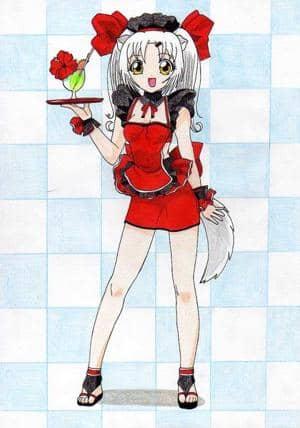 Natsumi die Kellnerin