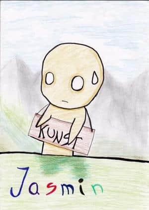 Kunst-Deckblatt
