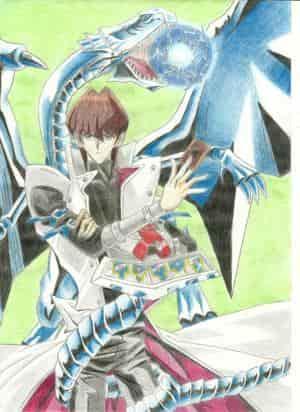 seto mit seinem weißen drachen