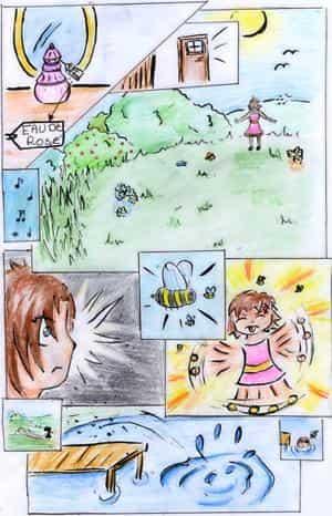 Bienen und Parfüm xD