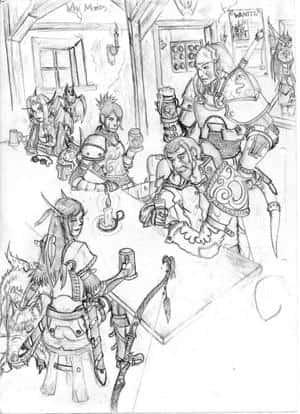 In der Taverne
