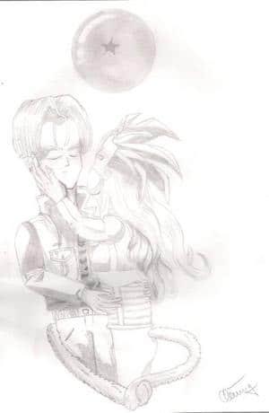 Trunks Love--Kiss