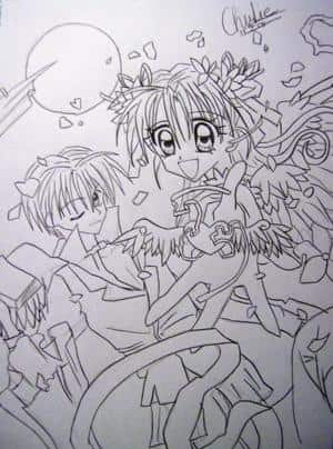 Kamikaze Kaitou Jeanne Cover 4