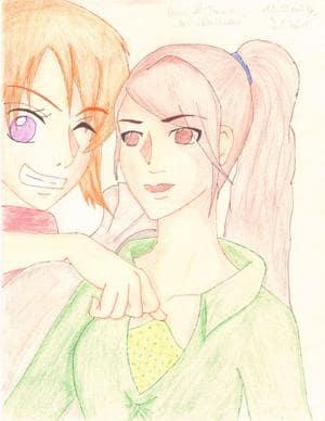 Nami & Tiana, das Diebesduo xD