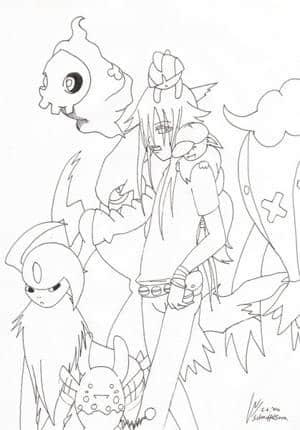 Pokemon und Sora