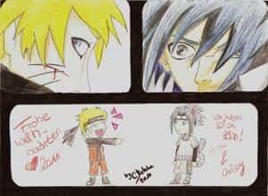 Naruto und Sasuke ♥