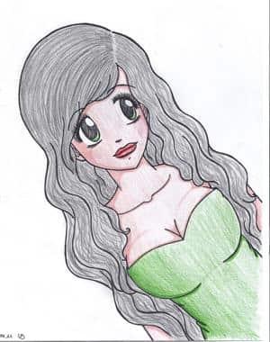Sie hat langes Haar..*sing*