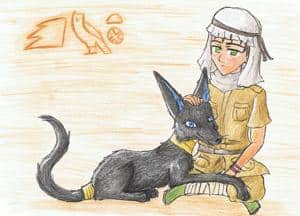 Ägypten und Anubis