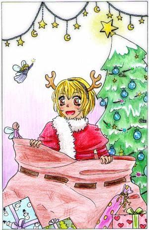 VORSICHT! Maskottchen im Weihnachtswahn