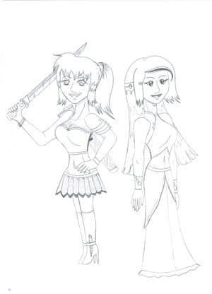 Warrior and Princess