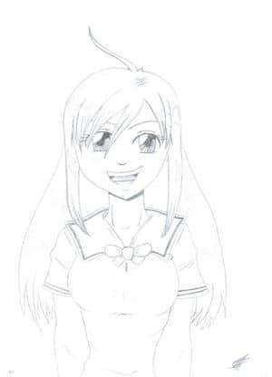 School girl Tessa