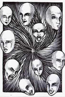 Gesichterkarussell