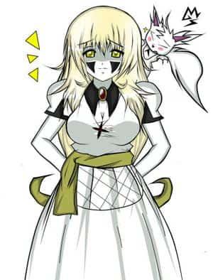 Lucia Arfaye & white Fox
