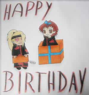 Happy Birthday Deidara 5.5
